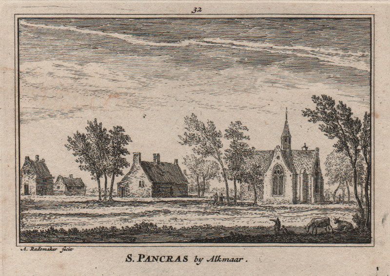 S. Pancras by Alkmaar by A. Rademaker