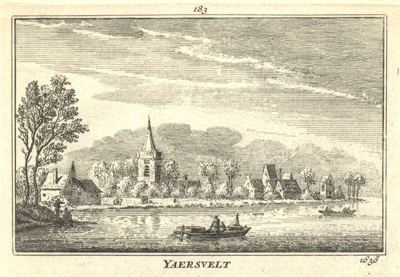 Yaersvelt 1636 by A. Rademaker