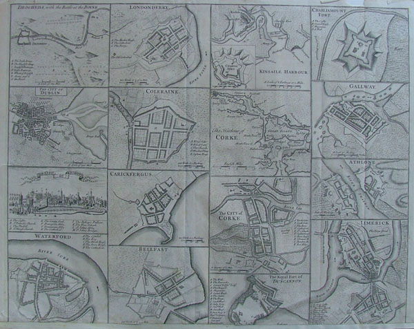 plan Drogheda, with the battle at the Boyne and 15 others by nn
