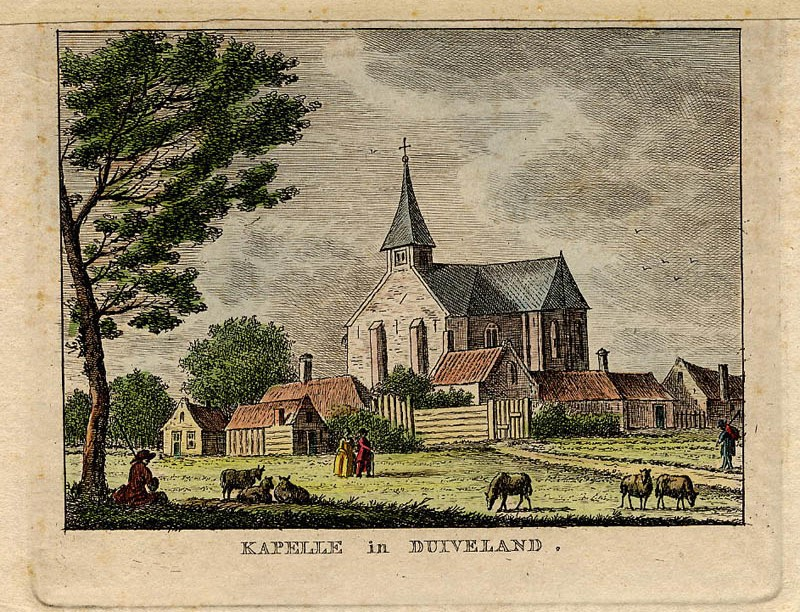 Kapelle in Duiveland by K.F. Bendorp, Jan Bulthuis