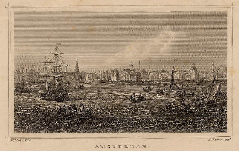 Amsterdam by W.J. Cooke, J.C. Varrall