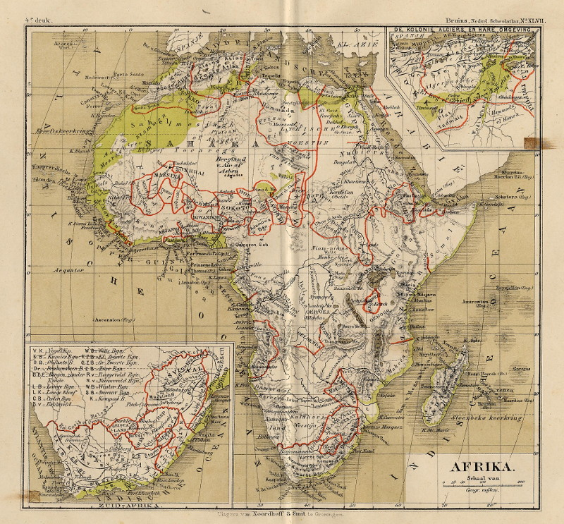 Afrika by F. Bruins